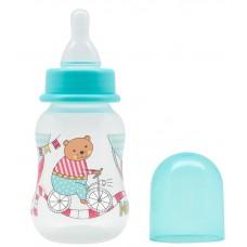 """Бутылочка для кормления с молочной соской """"Just LUBBY"""" 125мл"""