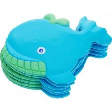 Мини-коврик для ванной комнаты КИТ (на присосах), 1 шт